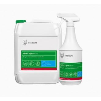 VELOX SPRAY 1 L NEUTRAL alkoholowy preparat do dezynfekcji małych powierzchni MEDISEPT