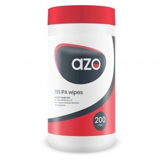 AZOWIPE EQUIPMENT 70% alkoholowe chusteczki dezynfekcyjne do powierzchni 200 szt. SYNERGY HEALTH