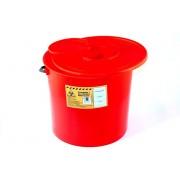 Pojemnik na odpady medyczne 10 L czerwony PLASPOL