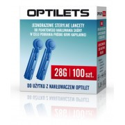 OPTILETS LANCETY 100szt 28G sterylne DIAGNOSIS
