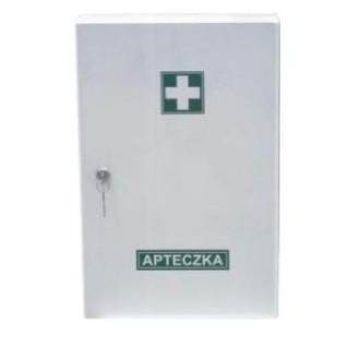 APTECZKA metalowa wyposażona A-300/Z BOXMET MEDICAL