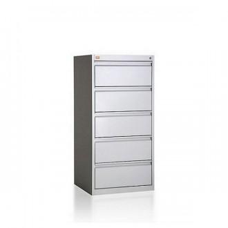 SZAFA KARTOTEKOWA medyczna metalowa B5 KOP/ 5 szuflad