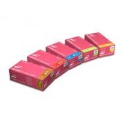 RĘKAWICE nitrylowe różowe NITRYLEX COLLAGEN PF bezpudrowe 100 sztuk MERCATOR