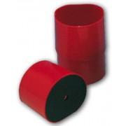 Pierścień czerwony mały z podstawą Bego 52390