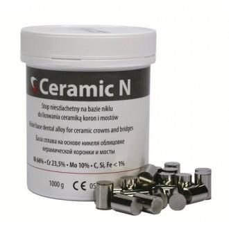 CERAMIC N  CrNi stop pod ceramikę szt.