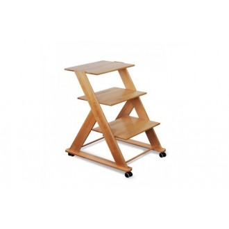 Stolik drewniany pod aparaturę medyczną - Juventas