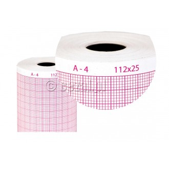 PAPIER termiczny do aparatów EKG AsCARD A4, B56, MrBlue, MrSilver, MrSilver2 oraz MrGrey.