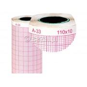 Papier AsCard 110x10m A33