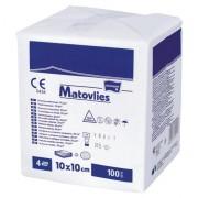 MATOVLIES kompres włókninowy niejał. 10x10cm 4W 30g TZMO