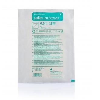 SafeLine  gaza  1 m2 sterylna 13n
