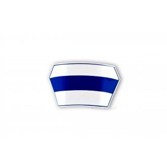 Emblemat CZEPEK granatowy pasek - dla opiekunek