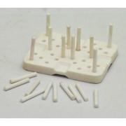 Podstawka ceramiczna do pieca + 20 pinów Roko