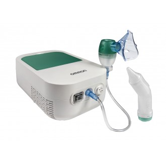 INHALATOR DUO BABY OMRON z aspiratorem do nosa
