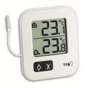 Termometr wew/zew TFA MOXX ze świadectwem wzorcowania