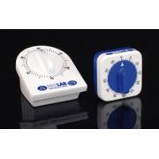 Minutnik mechaniczny, zegarowy 60min. duży ISOLAB