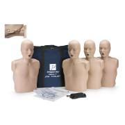ZESTAW PRESTAN 4 fantomy dorosłego z ruchomą szczęką CPR/AED