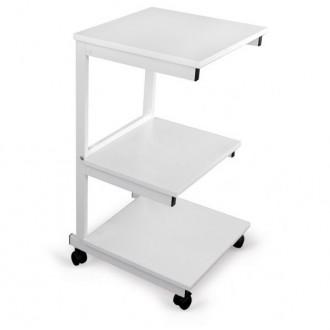 Stolik pod aparaturę Aluminiowy - 3 półki - Juventas