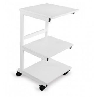 Stolik pod aparaturę metalowy - 3 półki - Juventas