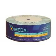 RĘKAW DO STERYLIZACJI papierowo foliowy 75 mm x 200 m MEDAL
