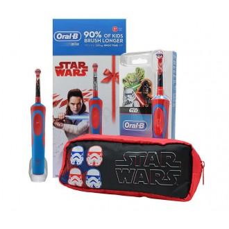 Szczoteczka elektryczna dziecięca STAGES POWER ORAL B - Star Wars + piórnik