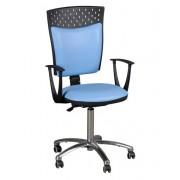 KRZESŁO lekarskie STAŚ CHROM SG/P krzesło obrotowe biurowe TOM PAG