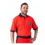 Koszulka polo RATOWNICTWA RZ 509 męska WOJDAK