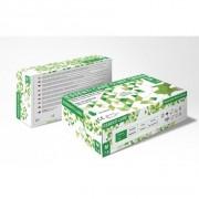 RĘKAWICE NITRYLOWE CLINIC GREEN ESSENTI CARE zielone opak. 100 szt.